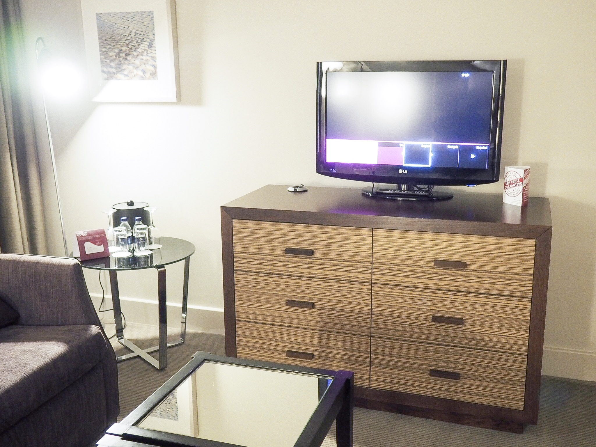 Crowne Plaza Resort Colchester executive suite