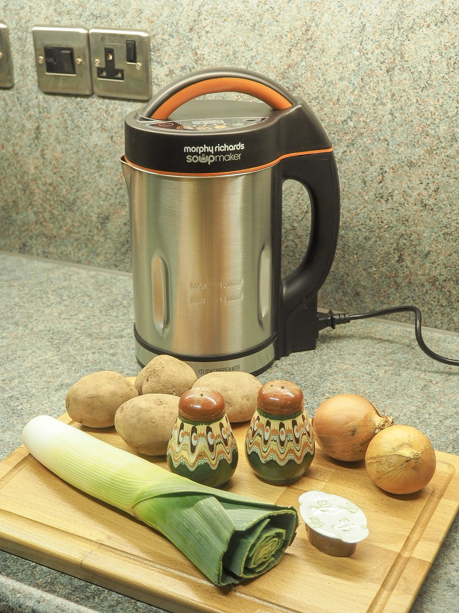 Morphy Richards soup maker recipes