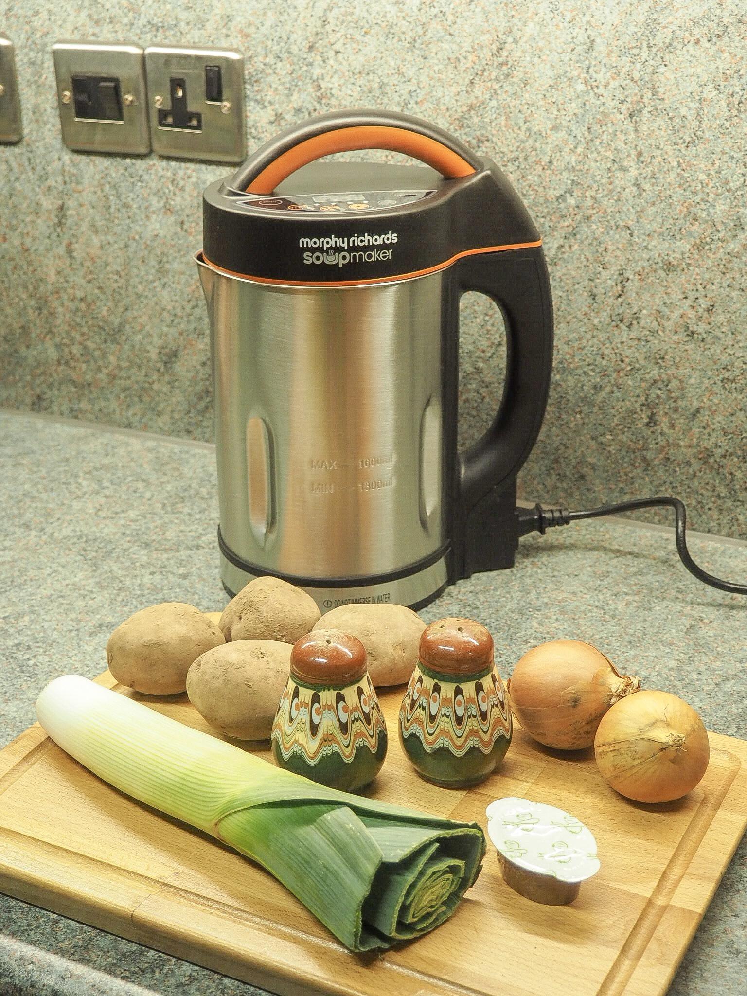 Morphy Richards soup maker recipes