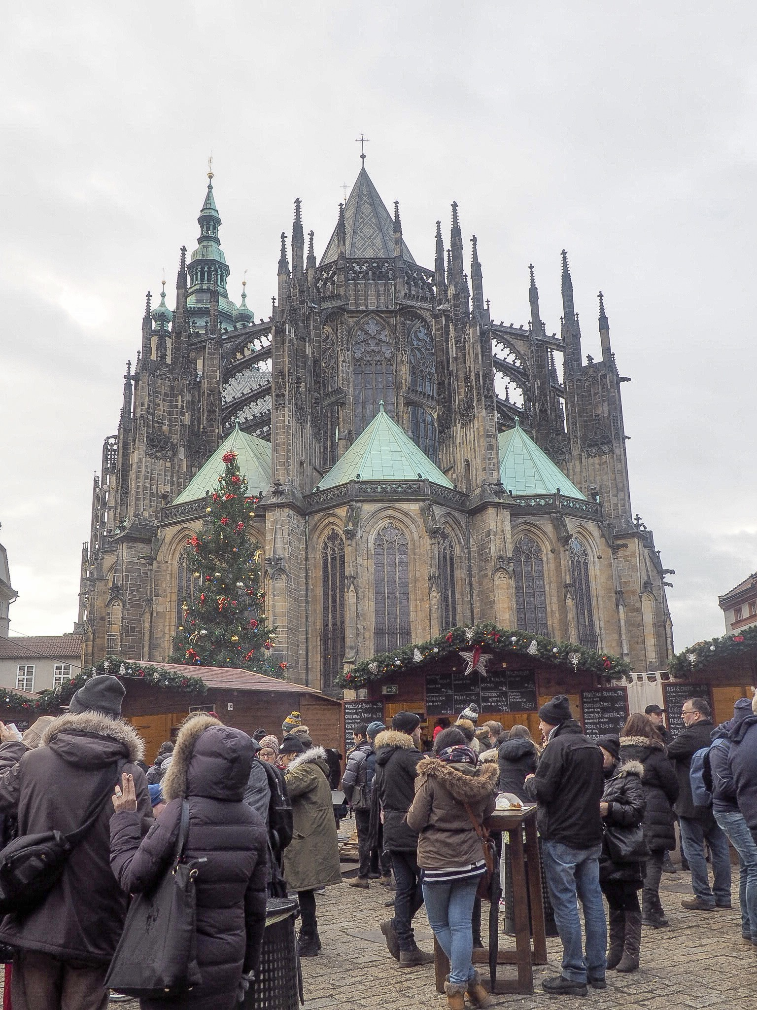Prague Castle christmas markets