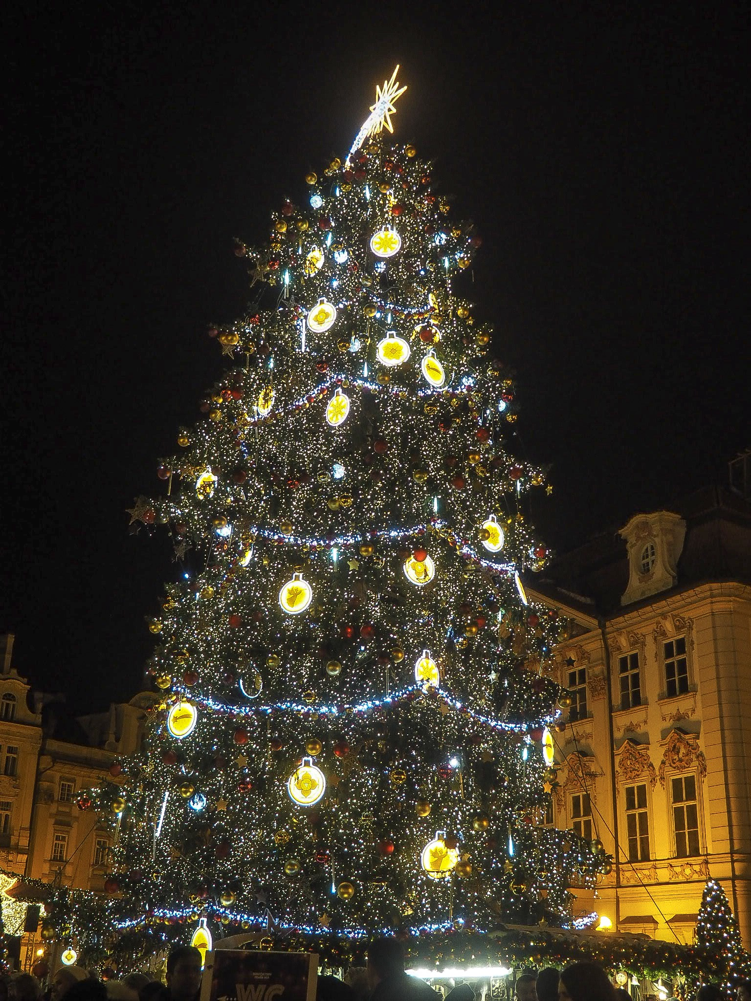 Old Town Square Christmas Market Prague