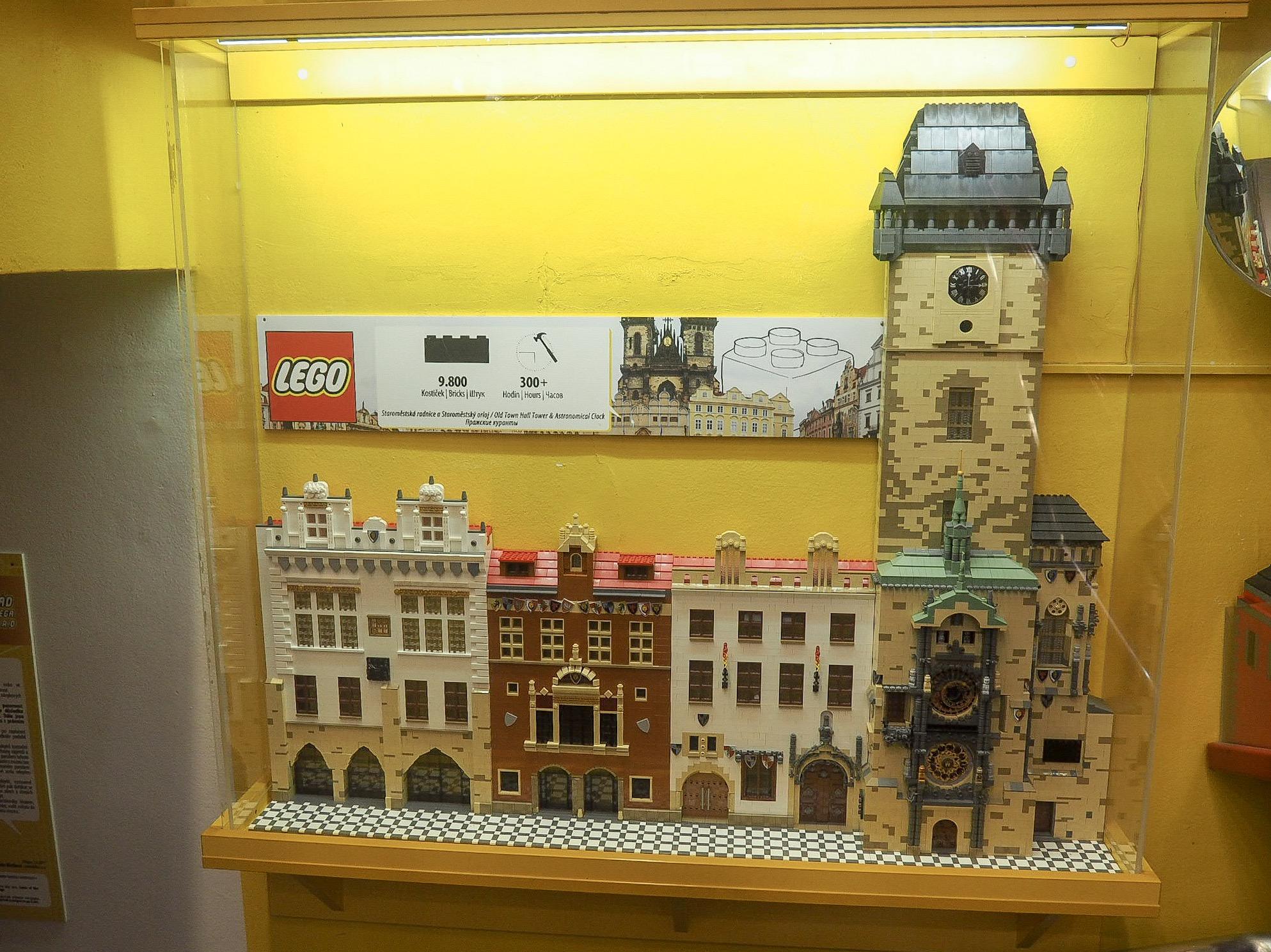 Lego museum Prague