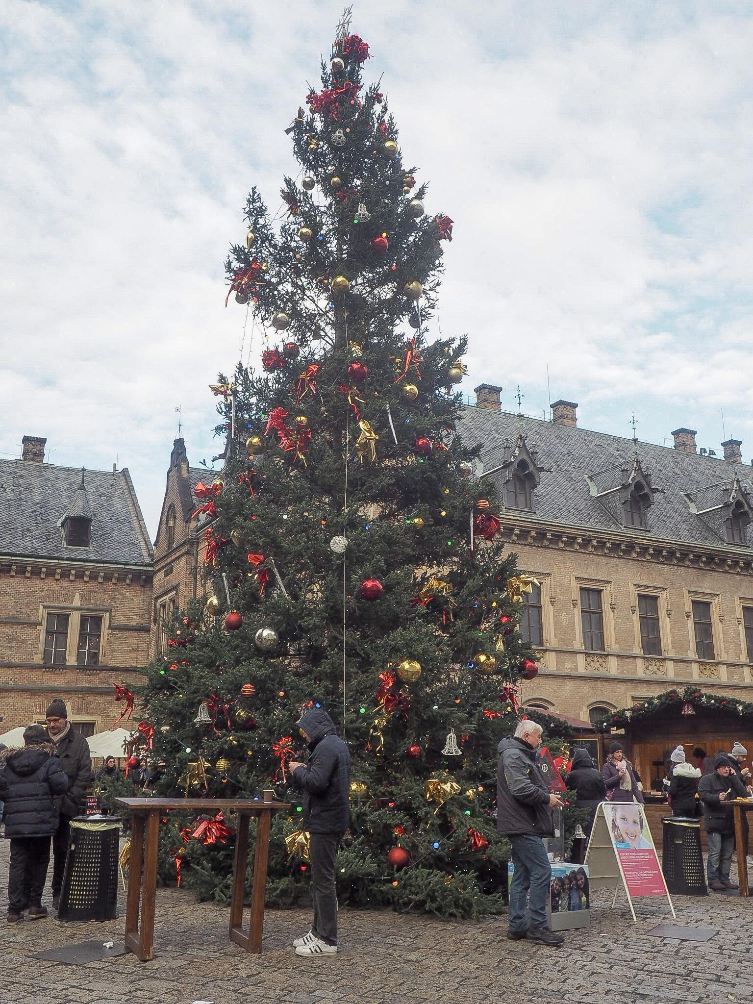 Prague Castle christmas markets