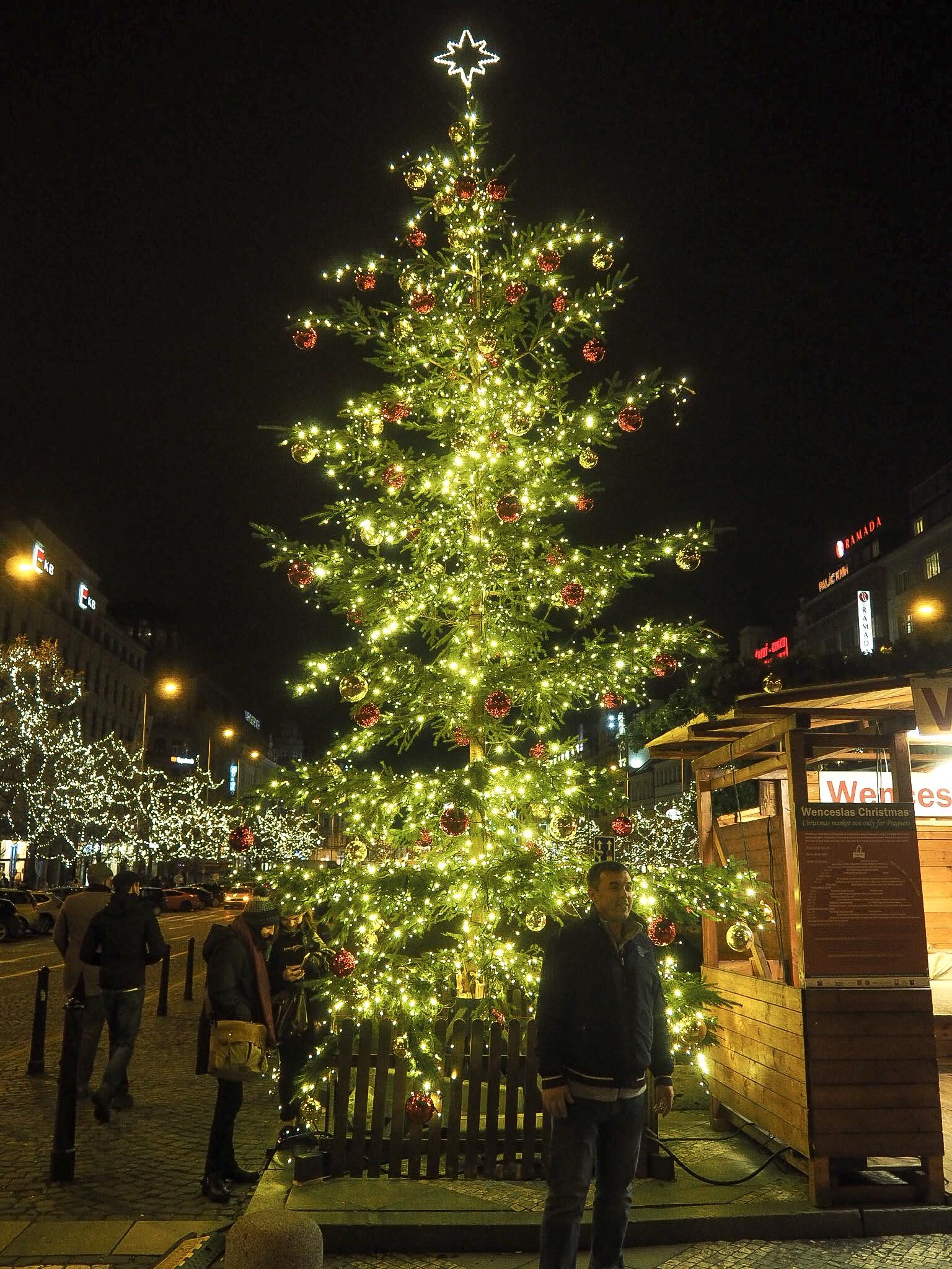 Wenceslas Square christmas market