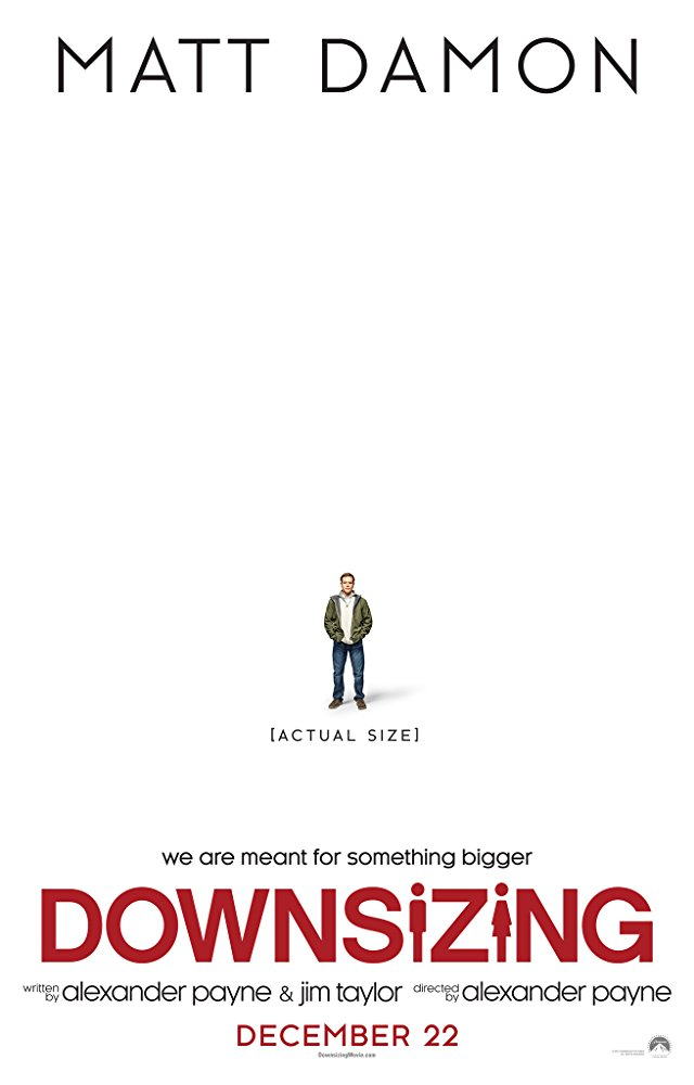 Downsizing film poster