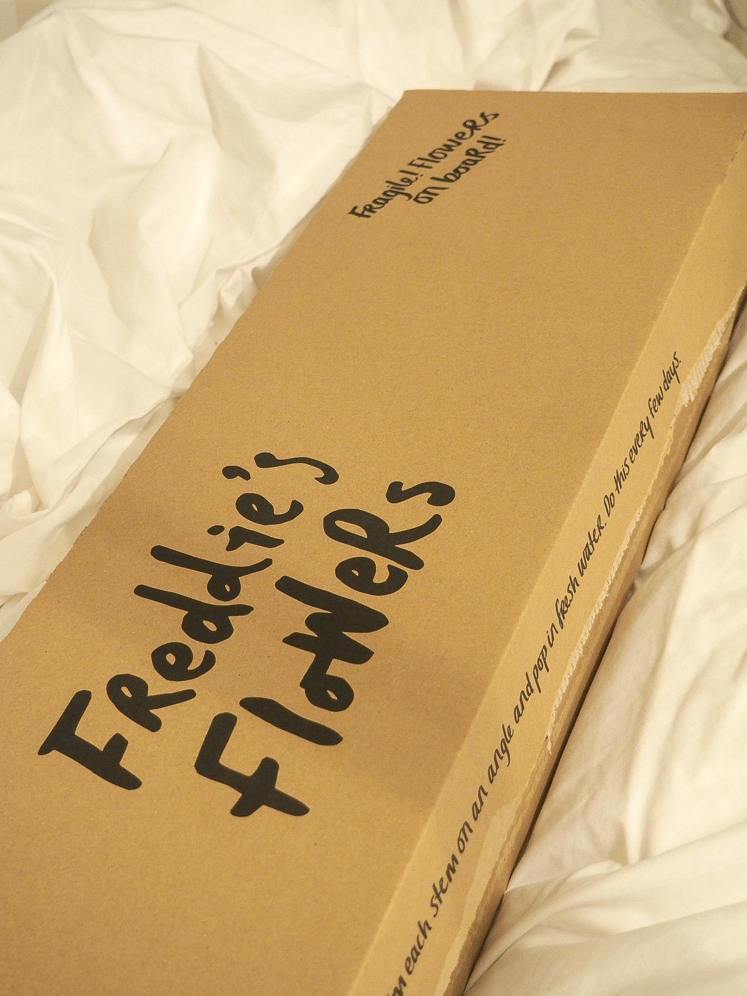Freddie's Flowers box