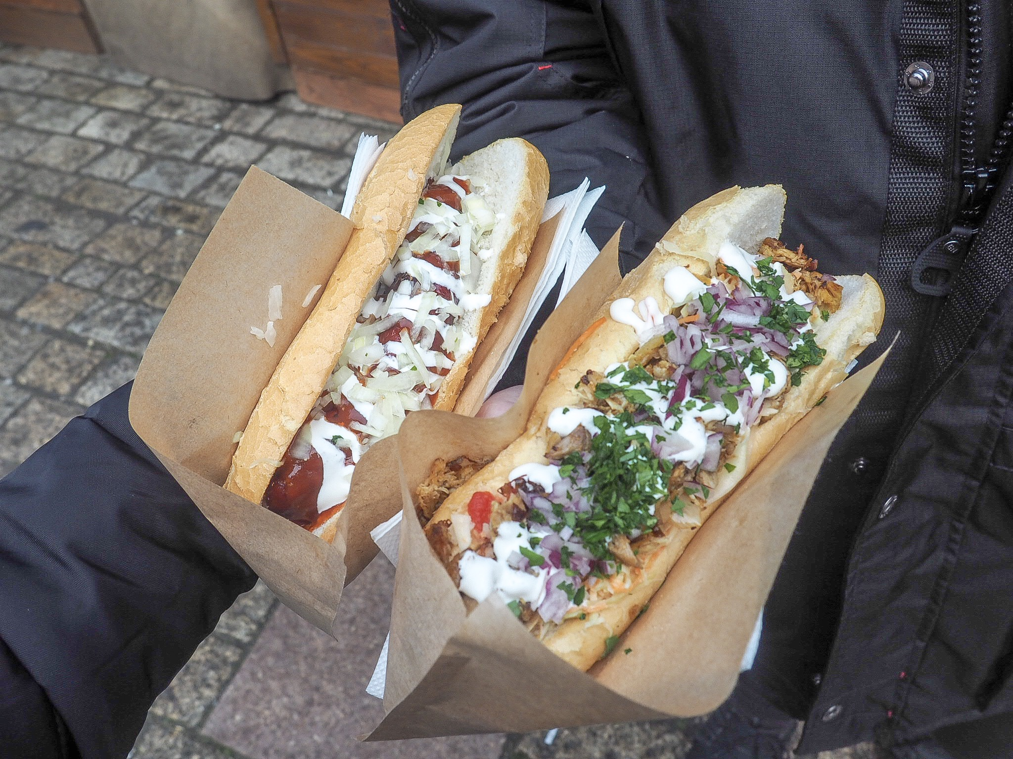 street food at prague castle
