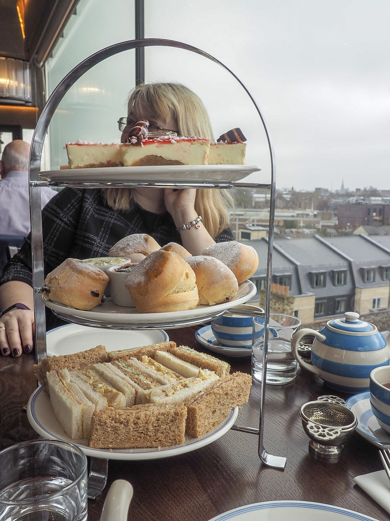 Afternoon tea at the Varsity Hotel