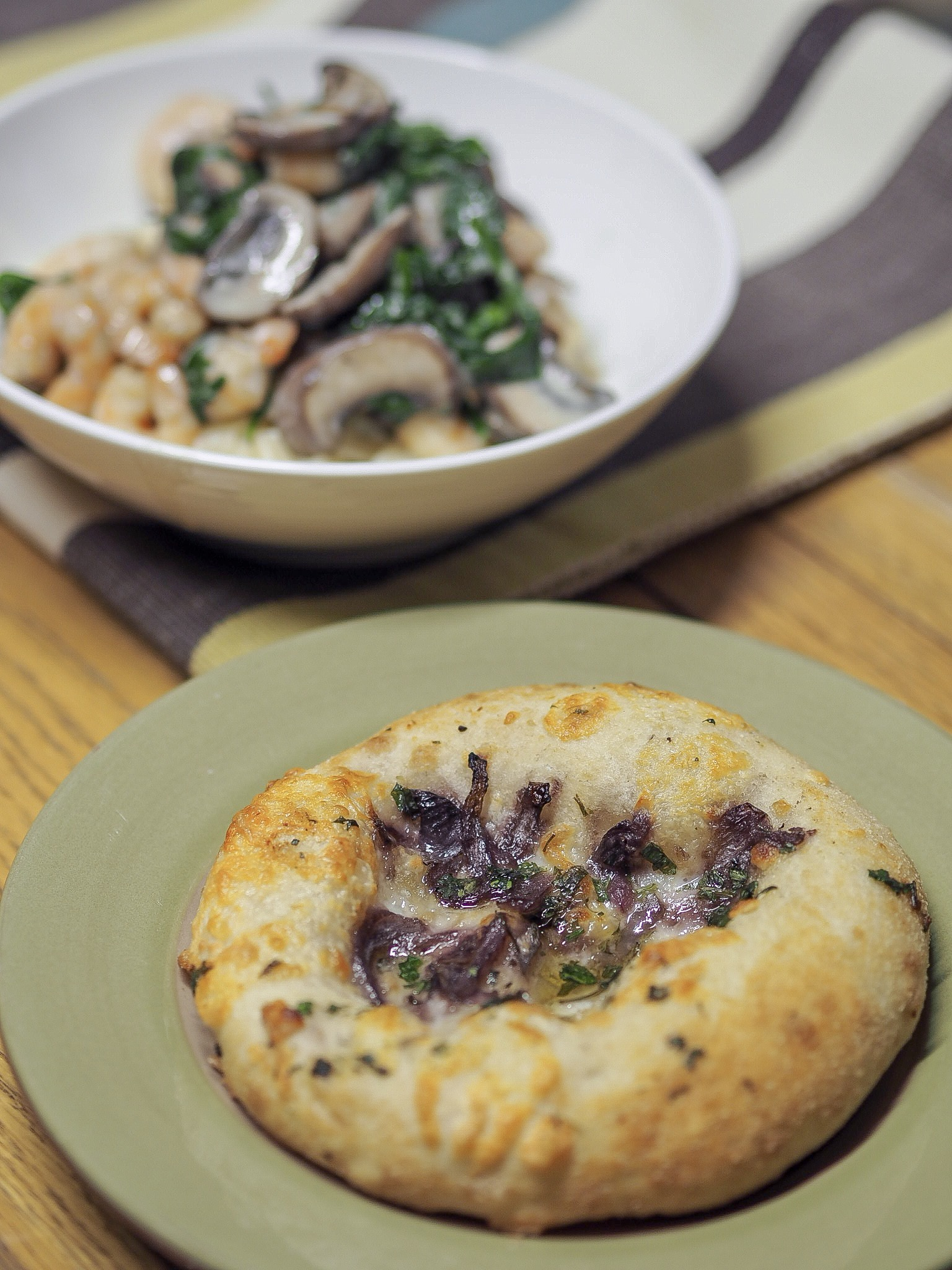 slimming world creamy mushroom and prawn pasta