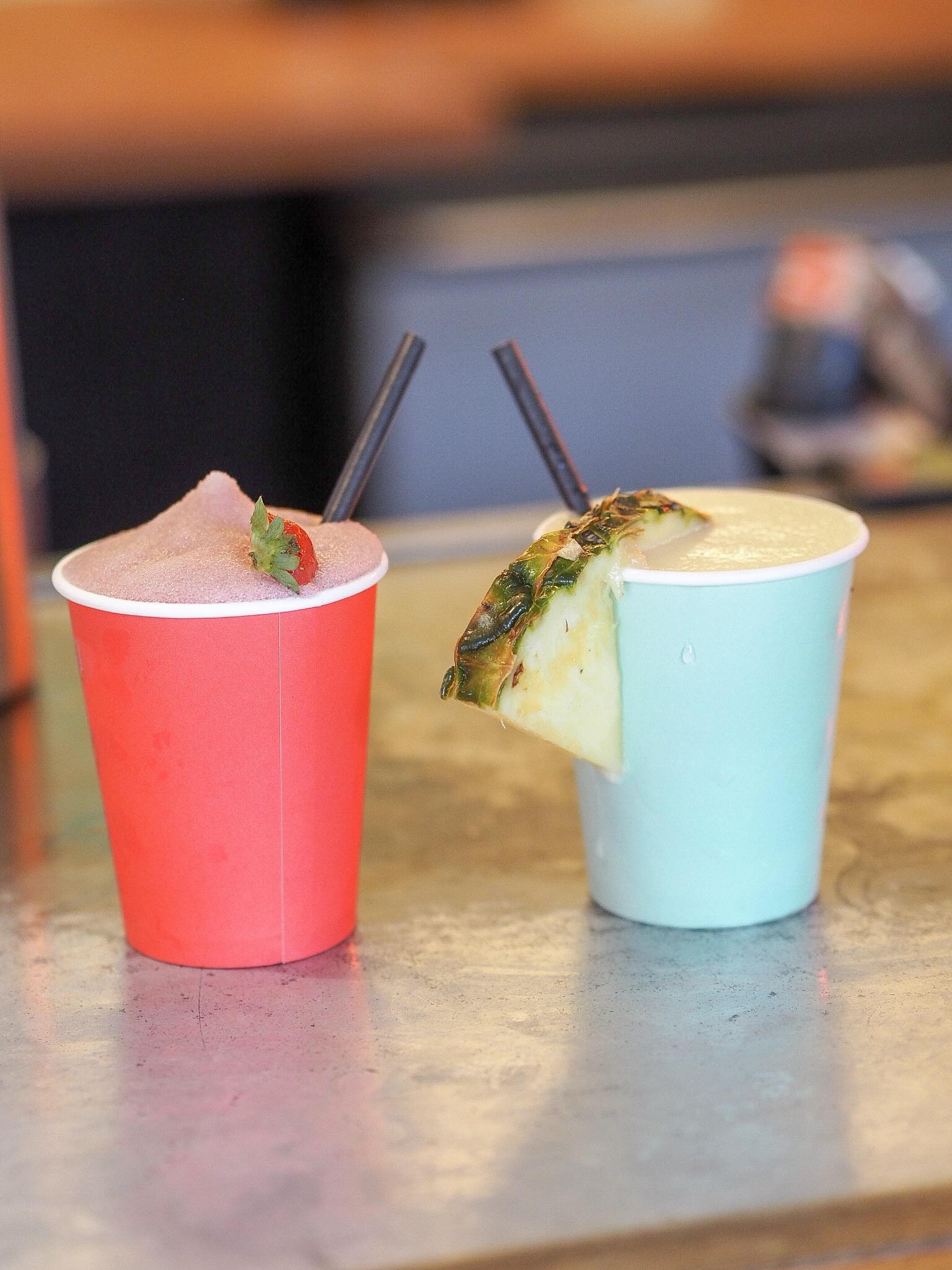 frozen cocktails at dinerama