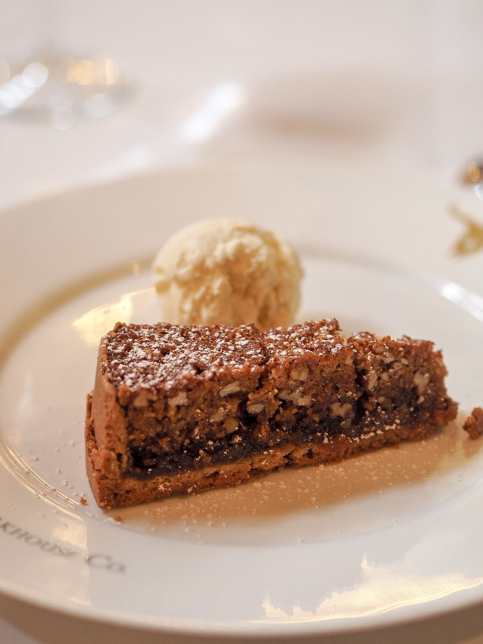 pecan pie at the london steakhouse company