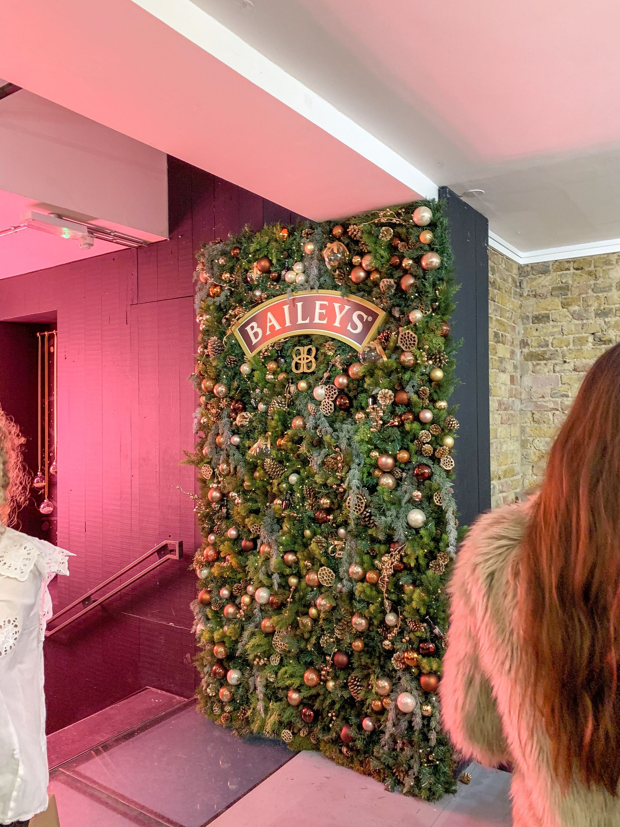 baileys christmas pop up london