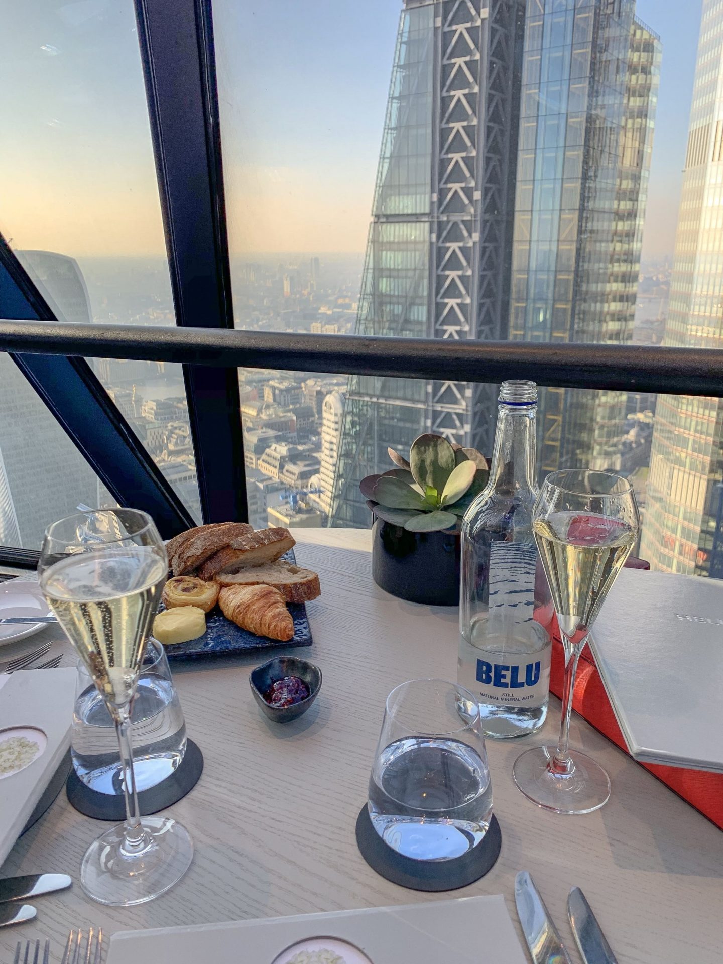 Champagne Brunch at The Gherkin