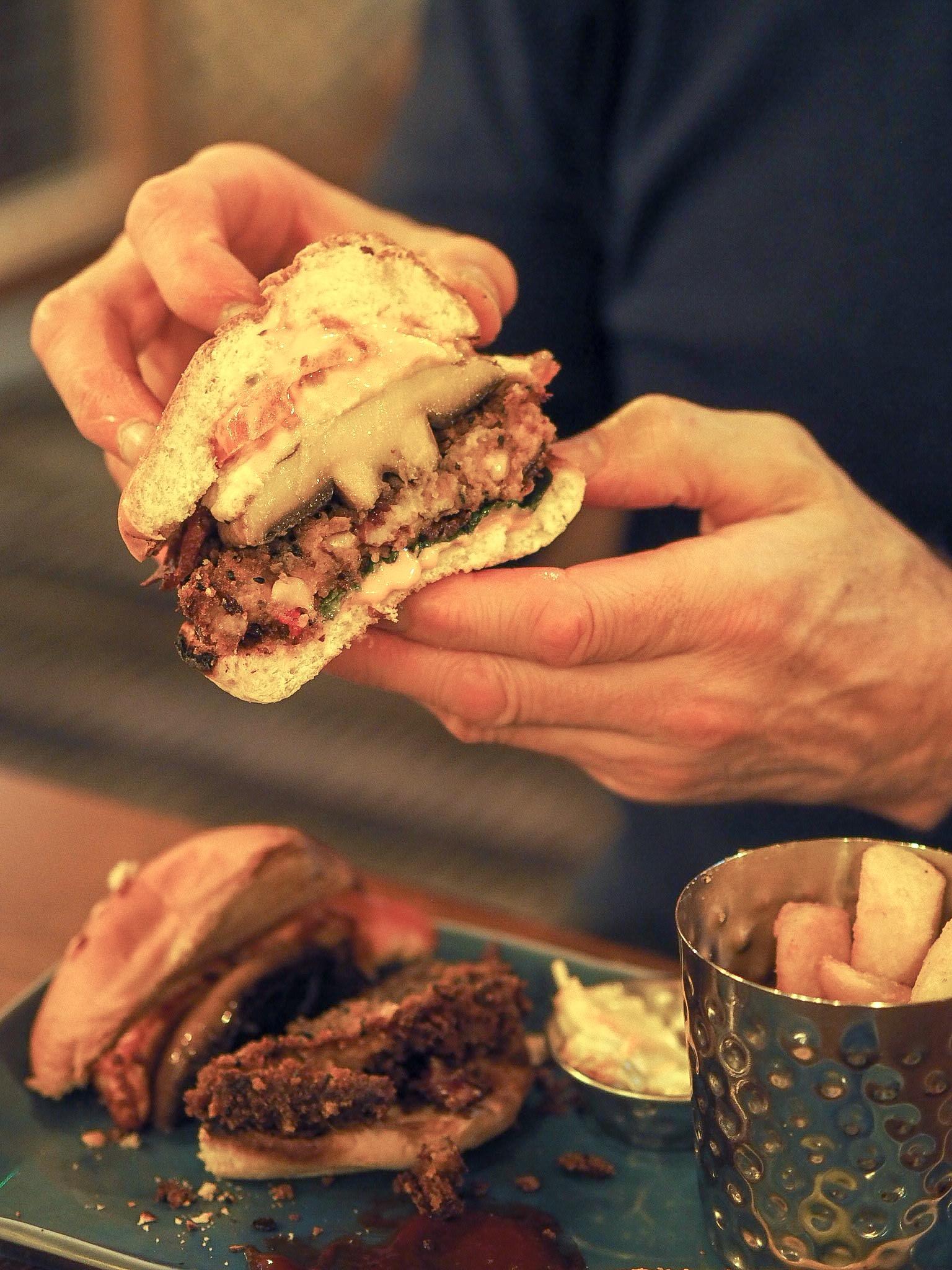 harvester boho burger