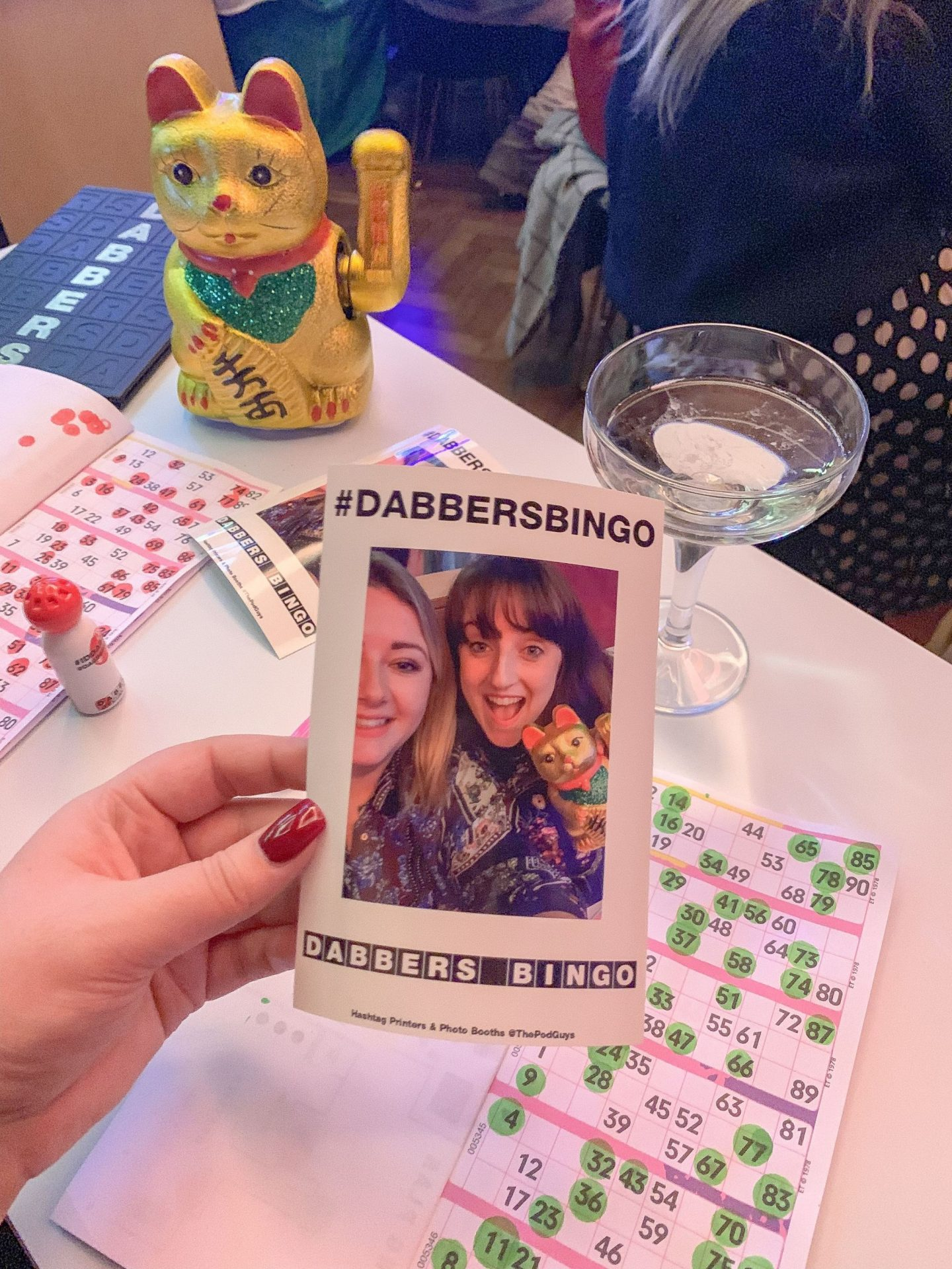 AD | An Evening at Dabbers Social Bingo
