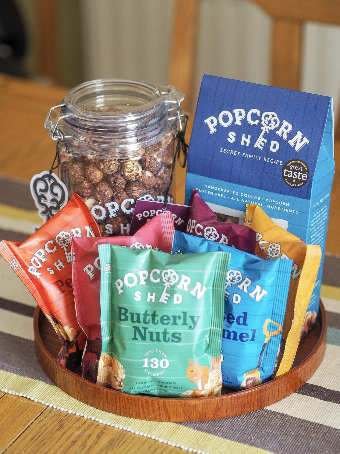 AD | Gourmet Popcorn from Popcorn Shed