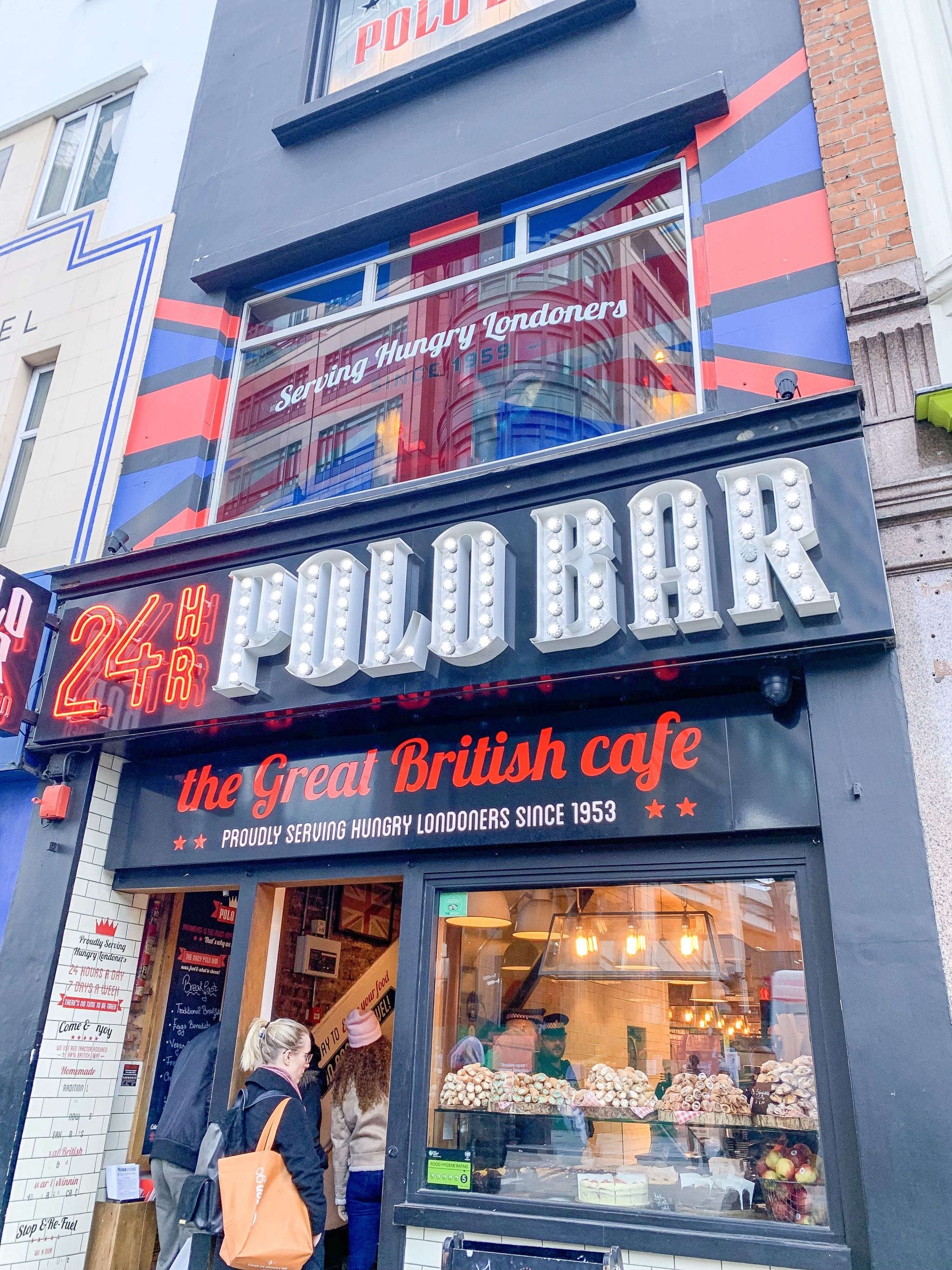 24 hour polo bar in liverpool street