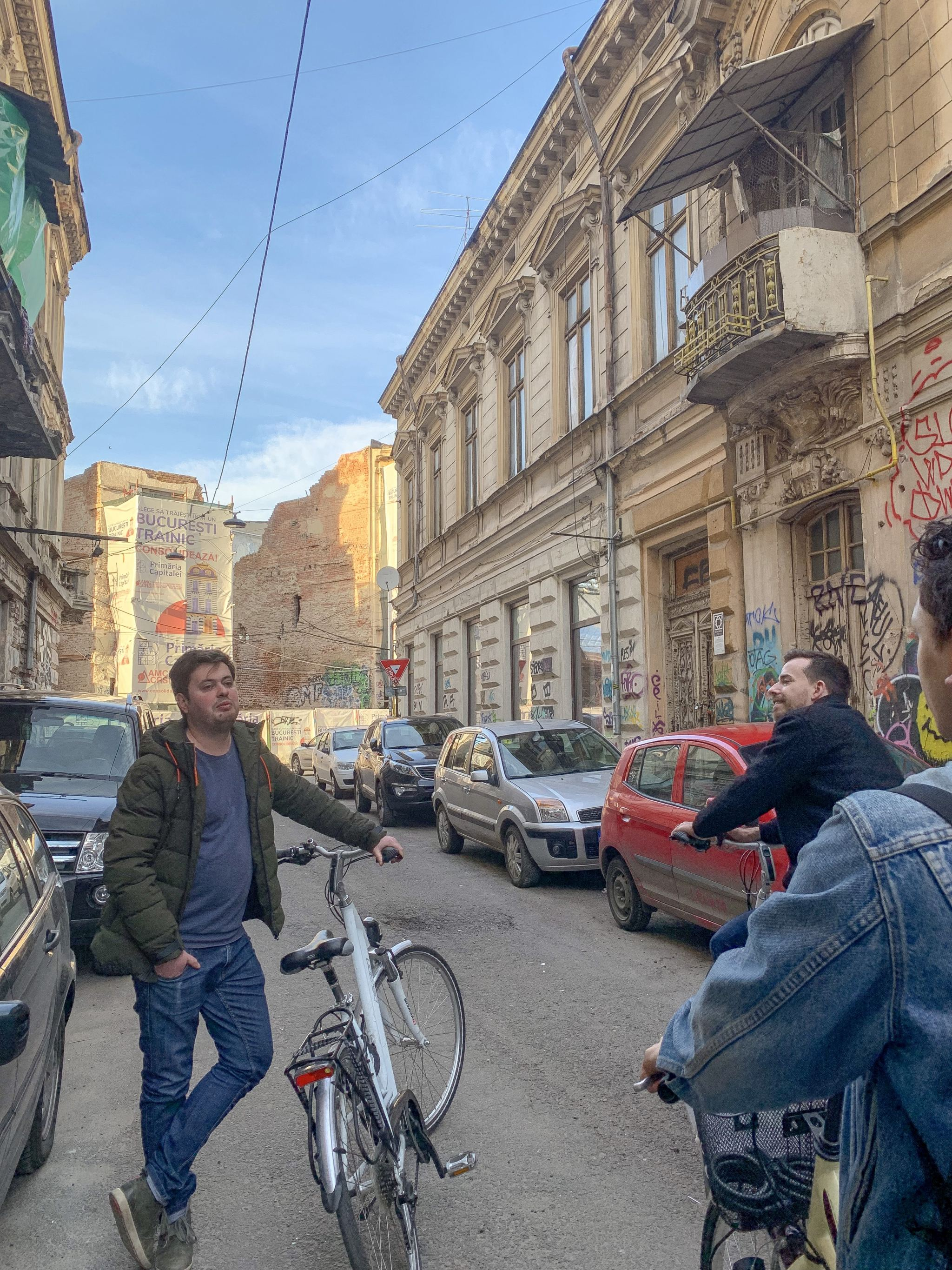 bike tour bucharest