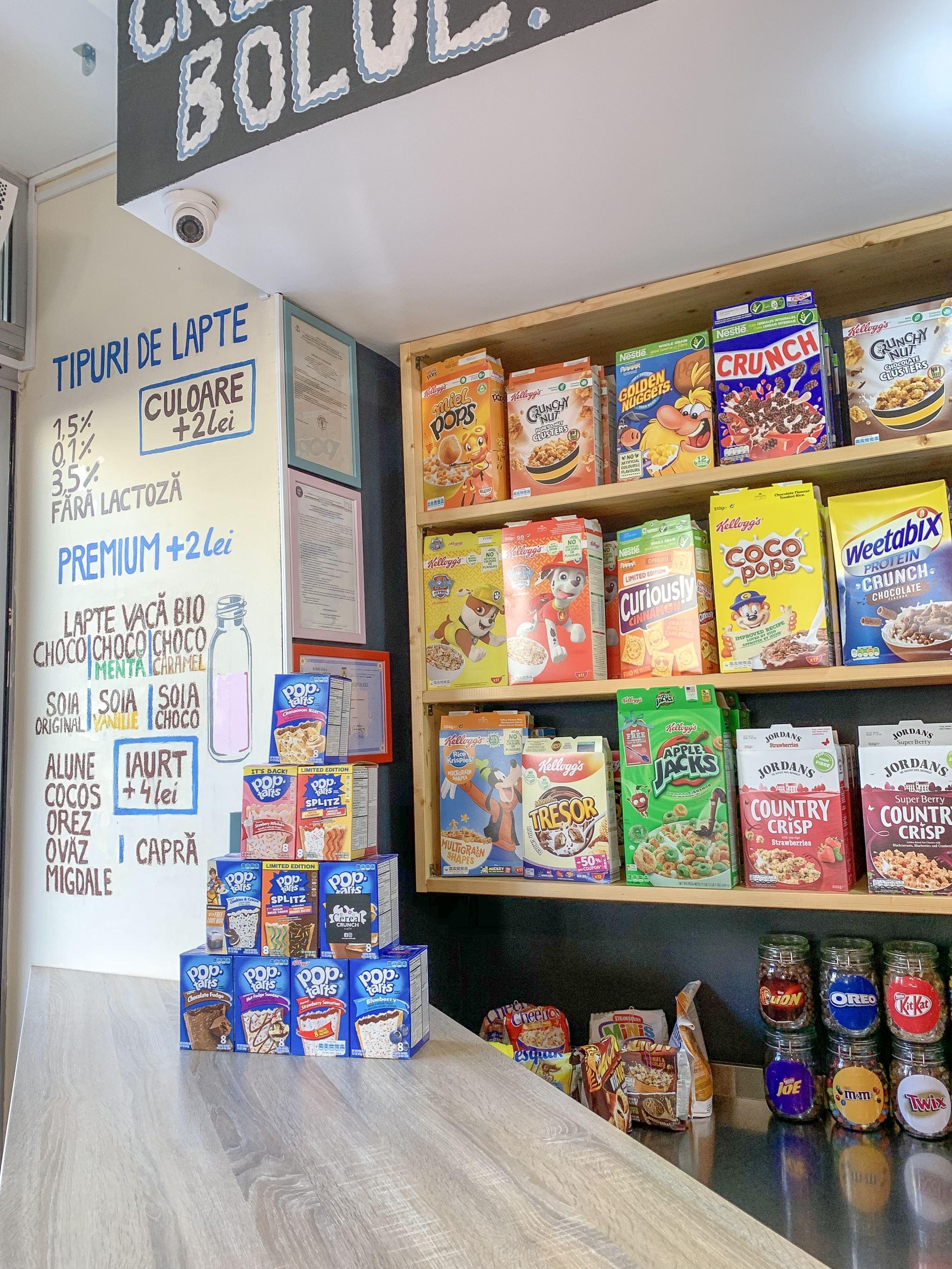 Cereal Crunch Café