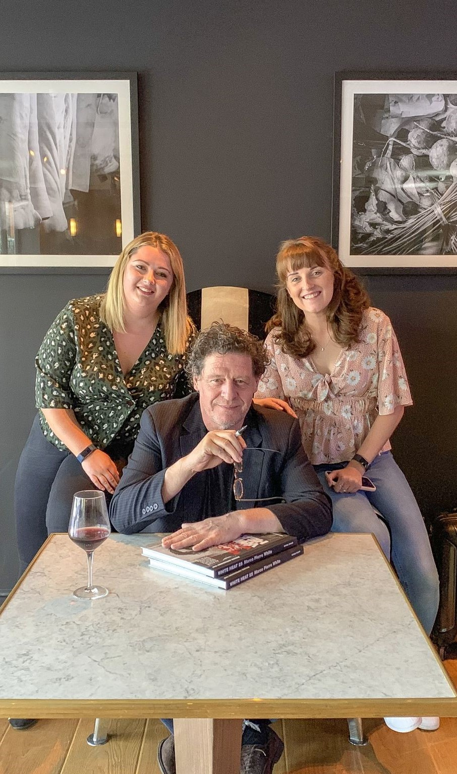 AD | Dinner with Marco Pierre White at Marco's New York Italian in Brentwood
