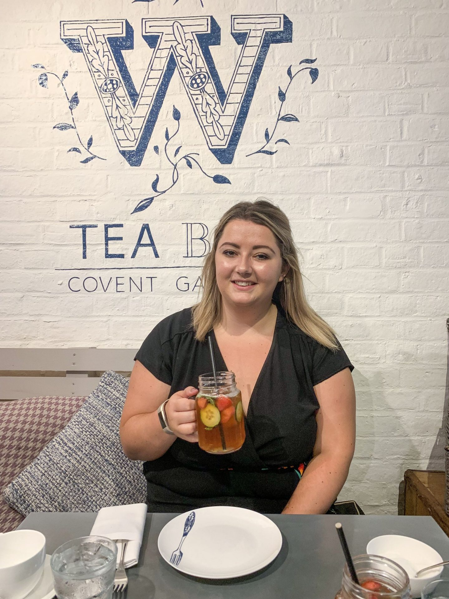 AD | Afternoon Tea at Whittard of Chelsea Tearoom in Covent Garden