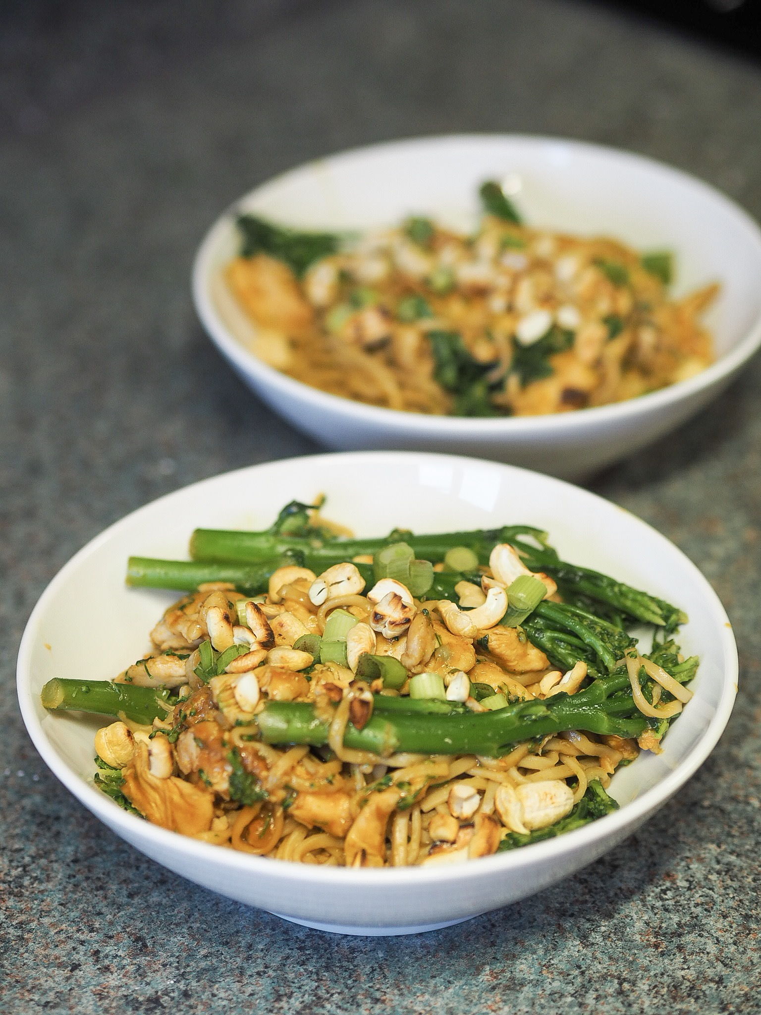 hello fresh chicken with cashew nuts and yellow bean sauce