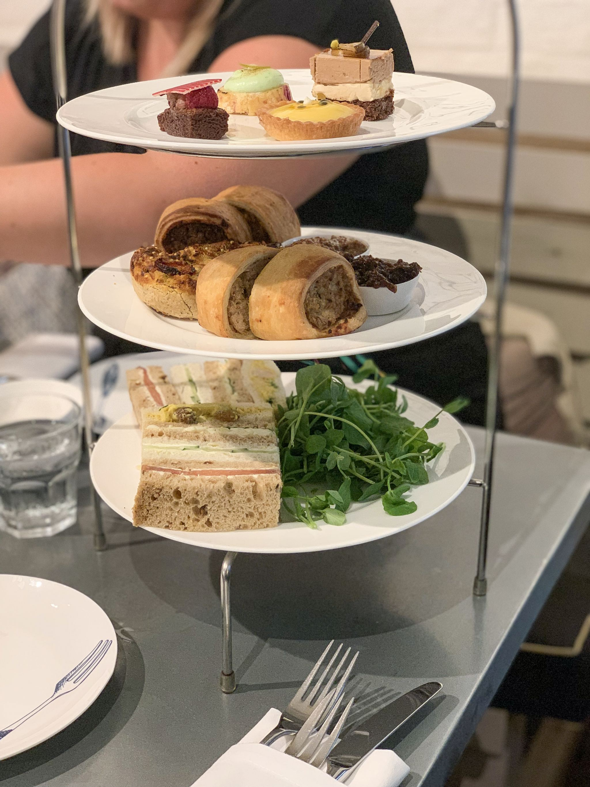 whittard savoury afternoon tea