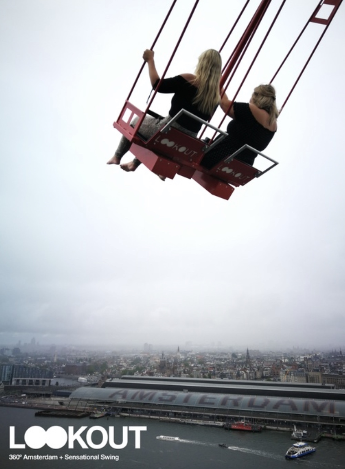 A'DAM Lookout swings