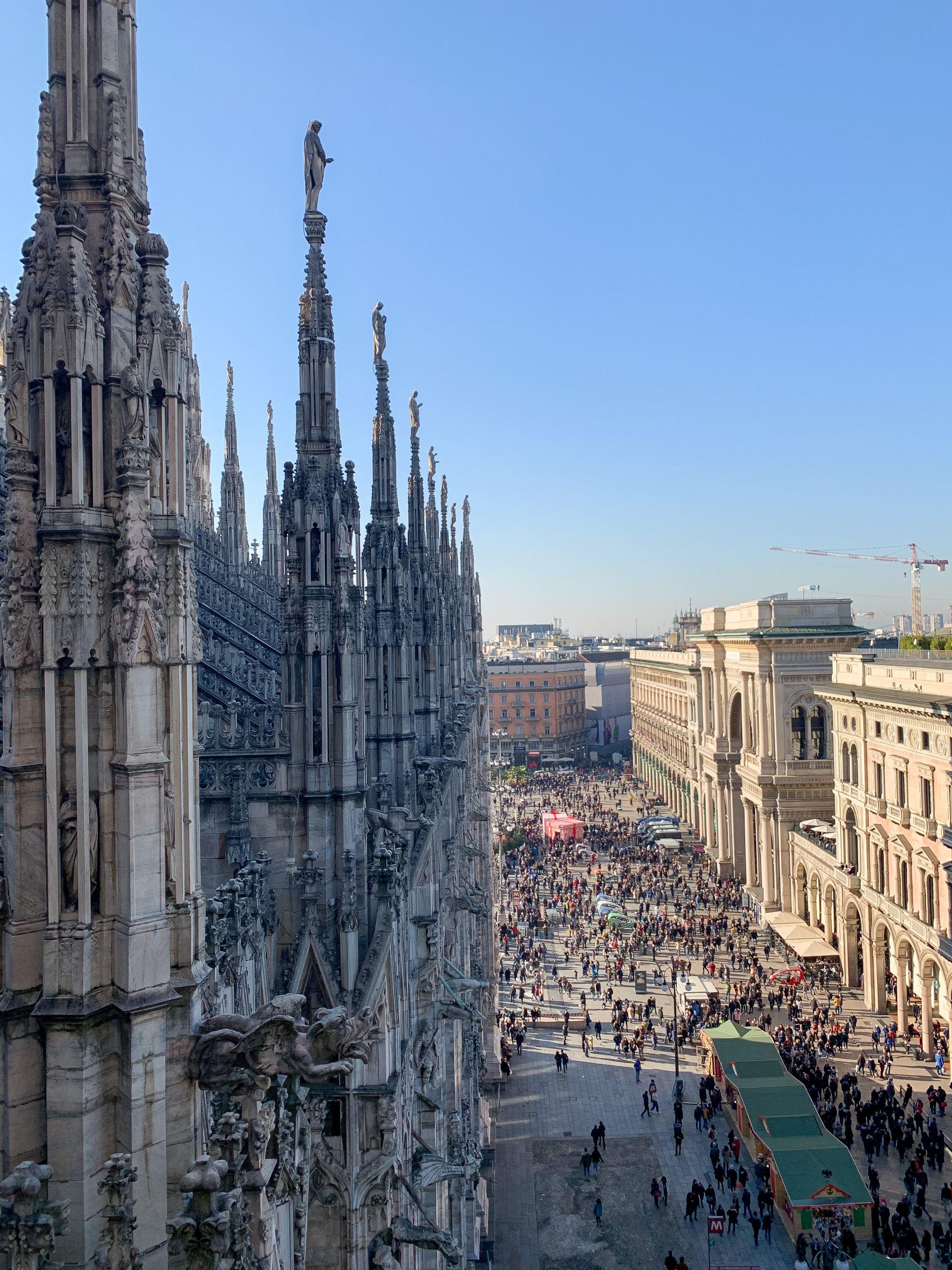 Milan cathedrale
