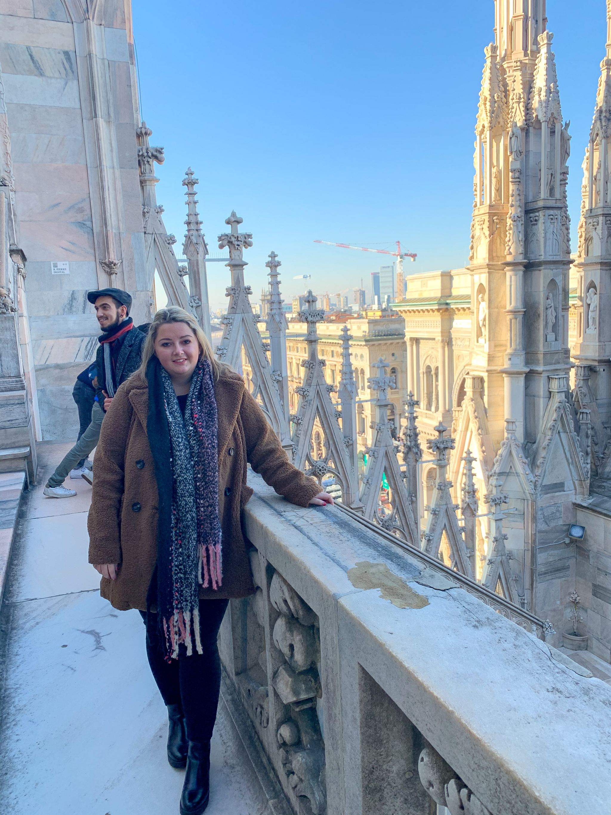 hannatalks at Duomo Milan