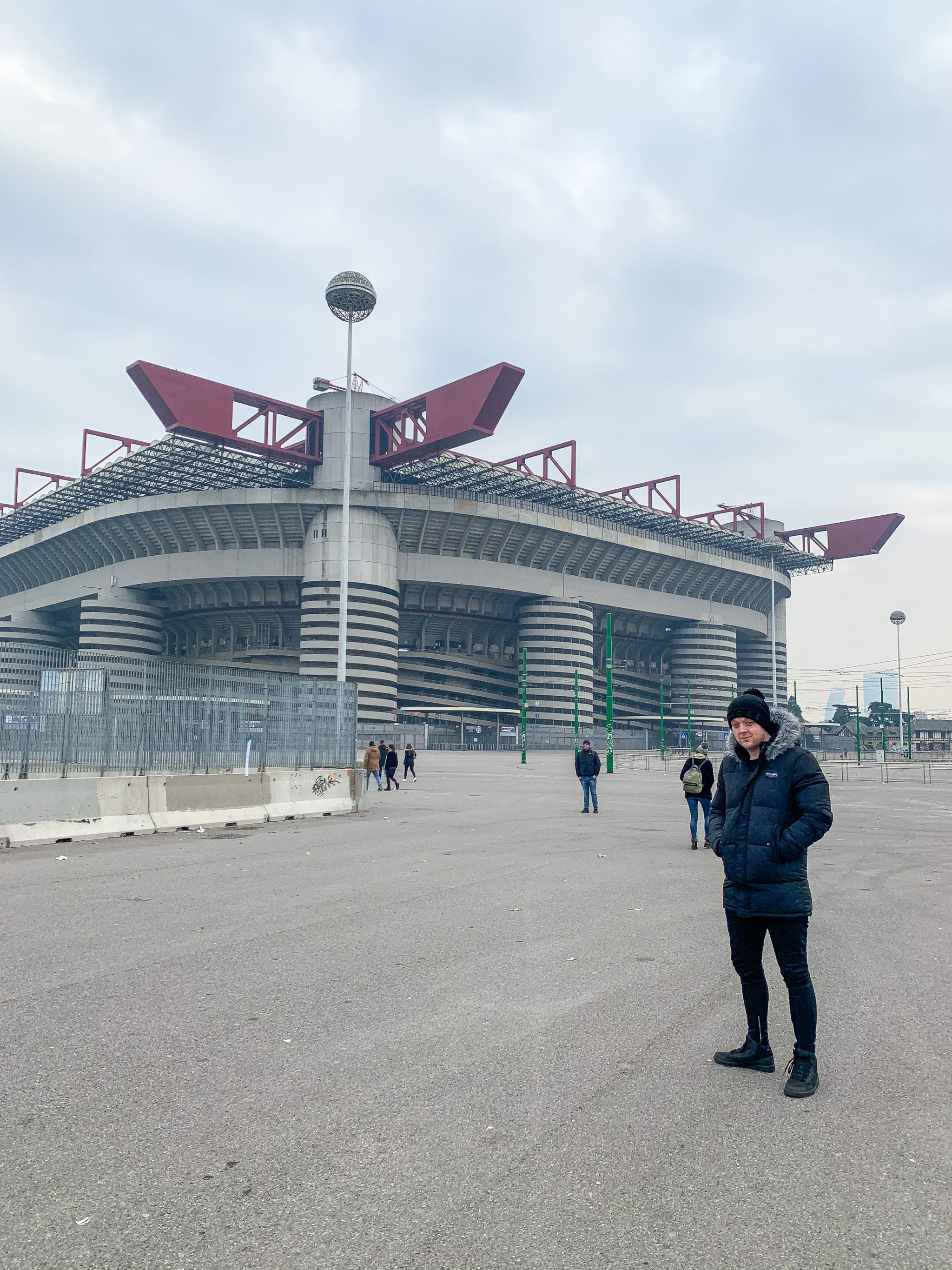 San Siro football stadium