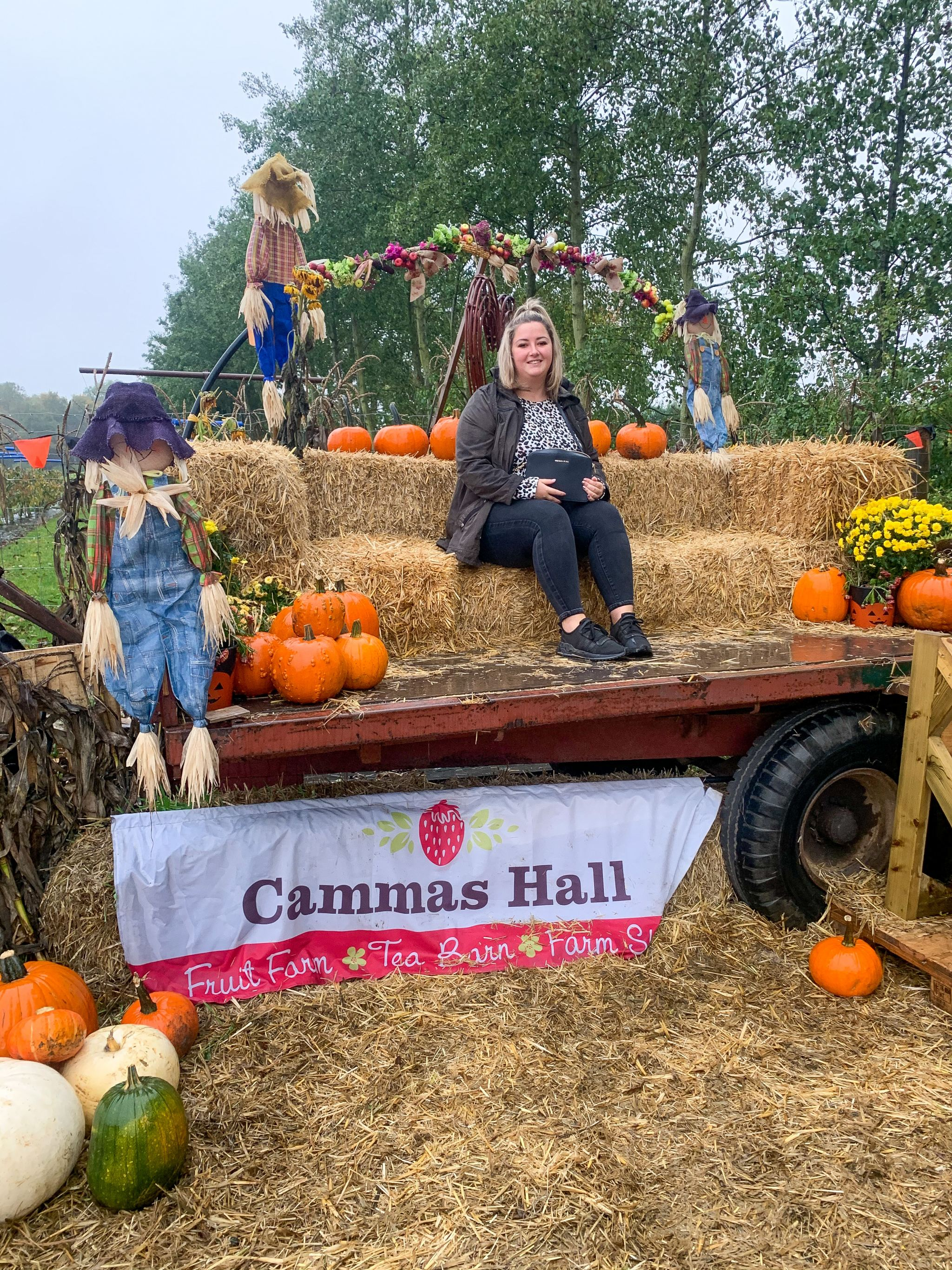 pumpkin picking cammas hall