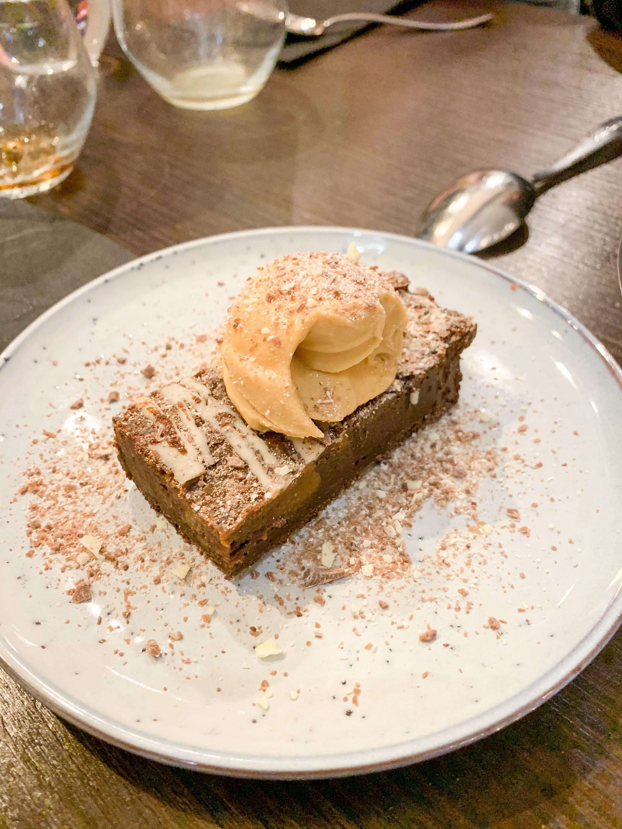 espresso chocolate brownie CIBO