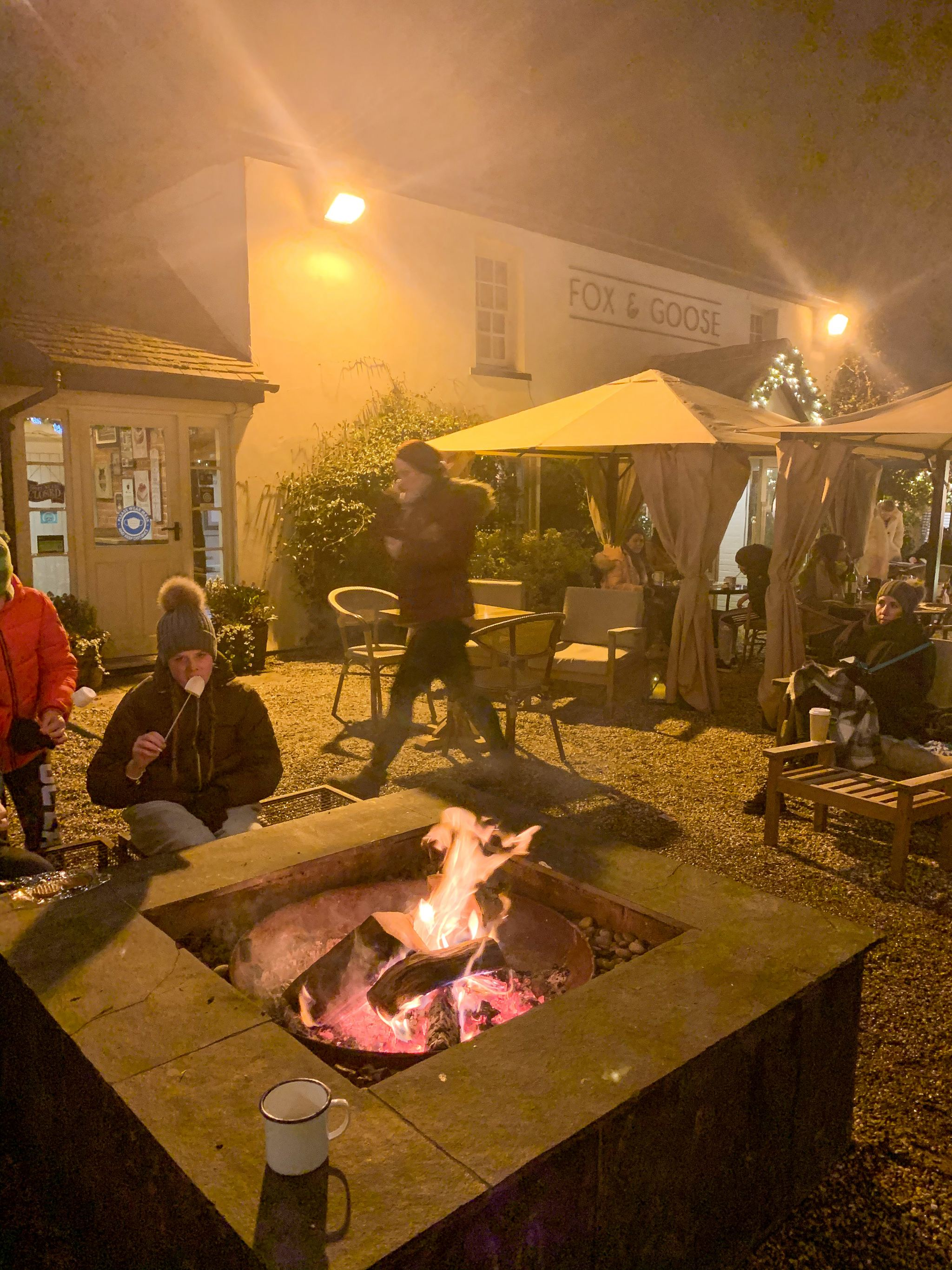 bakehouse chelmsford chocolate camper and firepit evening