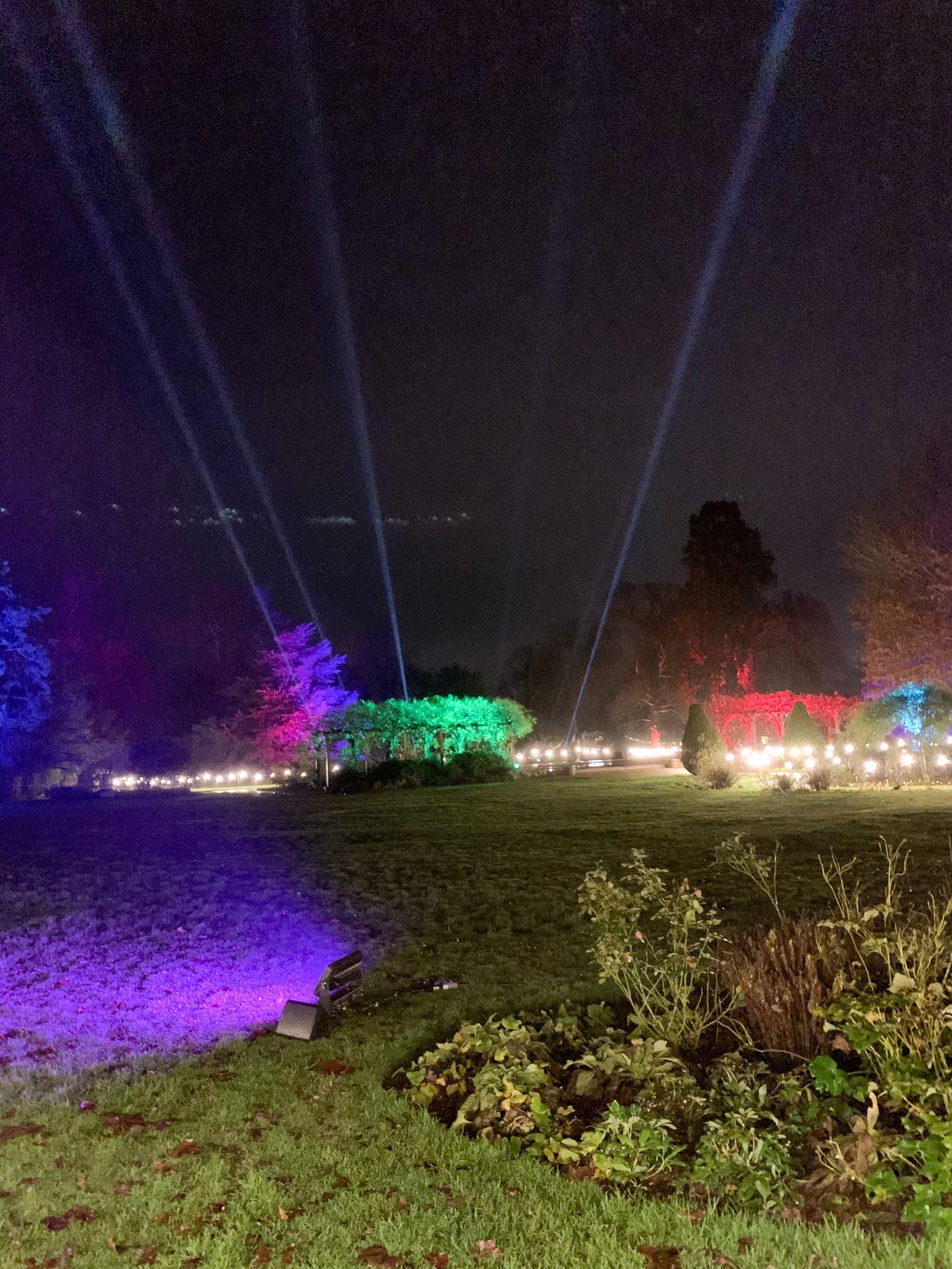 hylands park laser lights
